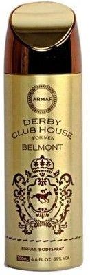 Парфюмированный дезодорант мужской Derby Club House Belmont 200ml