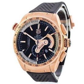 Наручные часы премиум  Tag Heuer Grand Carrera Calibre 36 quartz Chronograph Gold