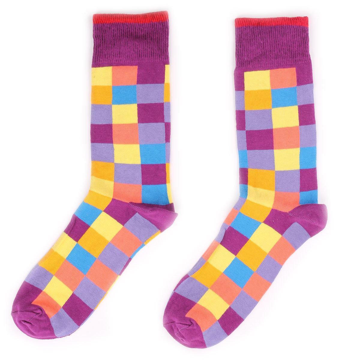 Мужские носки Sammy Icon Squares 40-46 Цветные (009084)