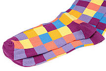 Мужские носки Sammy Icon Squares 40-46 Цветные (009084), фото 2