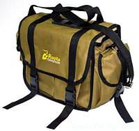 Сумка спиннингиста RFT Classic для рыбалки, койот, рыболовная сумка Rovita Fishing Tackle, сумка для рыболовных аксессуаров Rovita Fishing Tackle