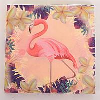 Аксессуары для праздника MET10146-3  салфетки, фламинго, 20 шт в  кульке,17,5-23-1,5см