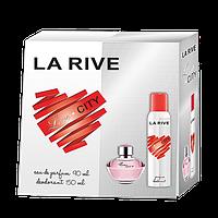 Женский подарочный набор La Rive Lovecity (парф. вода, дезодорант) #B/E