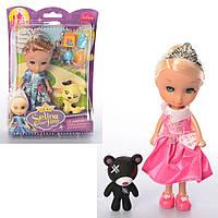 Кукла 86013  16см, животное, аксессуары, микс видов, в слюде, 16-22-5,5см