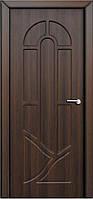 Межкомнатные двери Неман модель Аркадия ПГ орех шоколадный