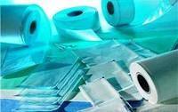 Стериклин ® стерилизационная упаковка-пленка (без складок с индикаторами для пара)  10 см /200м
