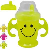 Чашка-поилка детская 300мл 14*8см R83601