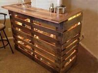 Мебель из поддонов в стиле лофт