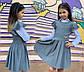 """Детский стильный школьный сарафан 660 """"Складки Крылышки Перфо"""" в расцветках, фото 3"""