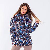 Женская куртка Indigo N 030T MULTICOLOUR BLUE