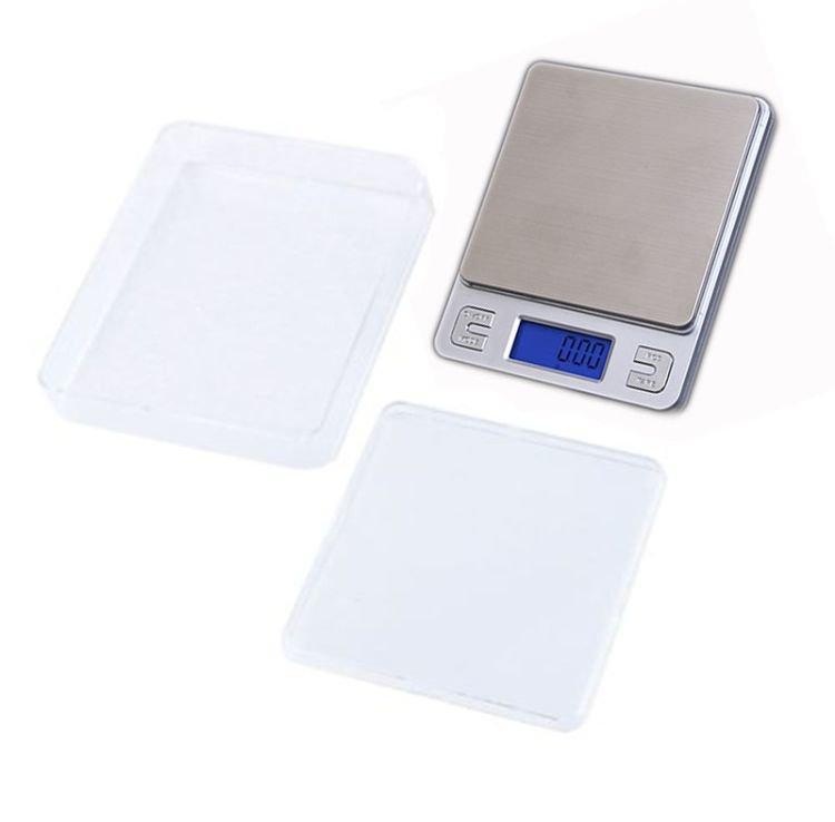 Профессиональные ювелирные весы Ks-386 до 500 грамм (шаг 0,01 грамм), 2 чаши