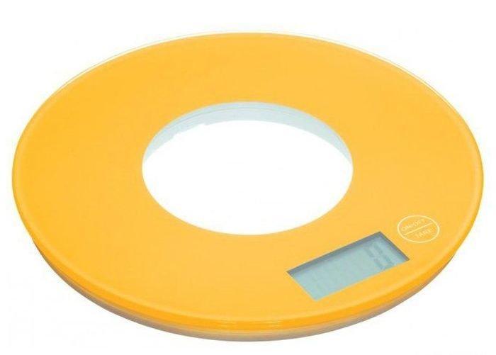 Сенсорные  кухонные электронные круглые весы Colourworks Kitchen Craft до 5кг