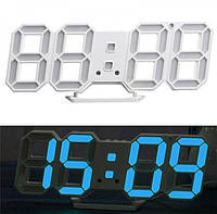 Электронные Led часы с будильником и термометром Caixing Cx-2218, blue, фото 1
