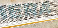 Профиль оконный примыкающий с сеткой Valmiera Glass длина 2,4 м.п. ширина 6 мм.