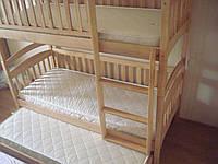Двухъярусная кровать на три спальных места