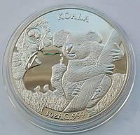Соломоновы Острова. Коала. 1 доллар 2019 г.