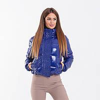 Женская куртка Indigo N 047T MONCLER SAPPHIRE