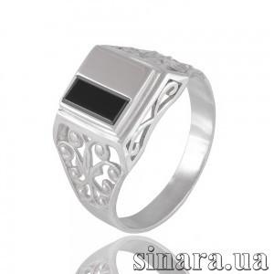 Мужской серебряный перстень 22341