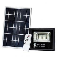 Светодиодный прожектор с солнечной панелью Tiger 10W 6400K + пульт ДУ