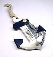 Термометр в морском стиле Якорь