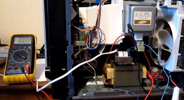 качественный ремонт микроволновки