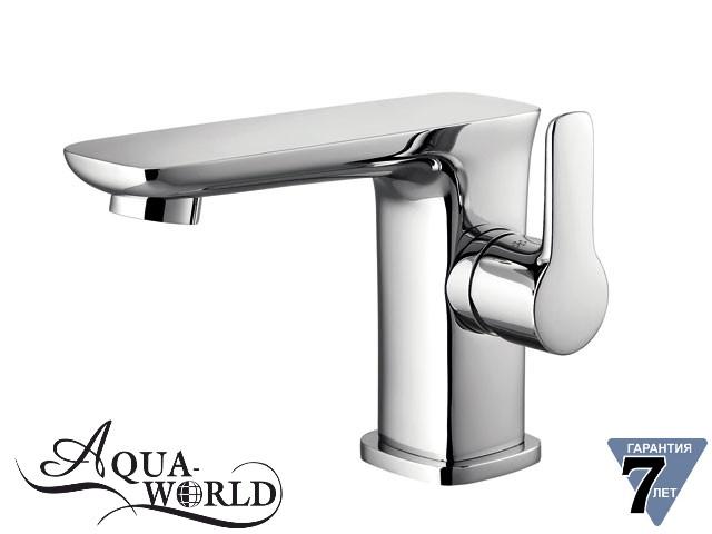 Смеситель для умывальника короткий Aqua-World СМ40Мд.17