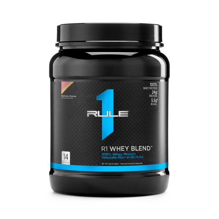 Протеин сывороточный Whey Blend (462 g, vanilla ice cream) R1 (Rule One)
