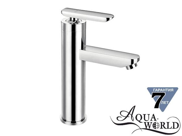 Смеситель для раковины чаши высокий CAESAR L Aqua-World СМ35Ц.17.3