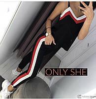Летний женский костюм с брюками