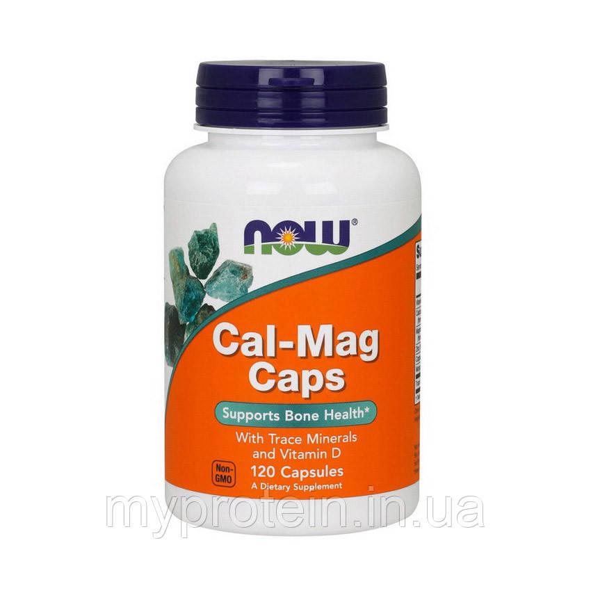 NOW Кальций магний Cal-Mag Caps (120 caps)