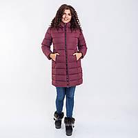 Женское пальто Indigo N 008T PLUM