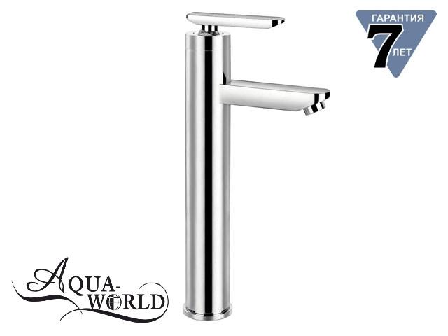 Смеситель для раковины чаши высокий CAESAR XL Aqua-World СМ35Ц.17.2