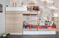 Кровать со шкафом для Двоих деток.