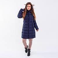 Женское пальто Indigo N 008T TASLAN NAVY