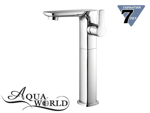Смеситель для раковины чаши высокий Aqua-World СМ40Мд.17.1