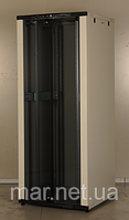 Шкаф коммутационный напольный 42U 19'' 600х1000 неразборной