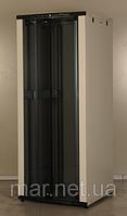 Шкаф коммутационный напольный 42U 19'' 800х800 неразборной