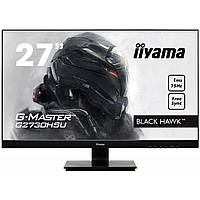 "27.0"" Монитор Iiyama G-Master GB2730QSU-B1, 2K (75Hz) (TN LED, VGA, HDMI, DisplayPort)"