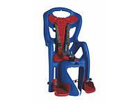 Велокрісло дитяче Bellelli Pepe Clamp, на багажник, до 22кг синій (A-PZ-0203)