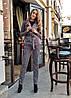 """Женский шерстяной брючный костюм """"Кatana"""" с жакетом (3 цвета), фото 5"""