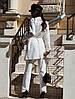 """Стеганый женский брючный костюм """"FLOURE"""" с кардиганом (5 цветов), фото 6"""