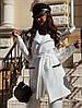 """Стеганый женский брючный костюм """"FLOURE"""" с кардиганом (5 цветов), фото 5"""