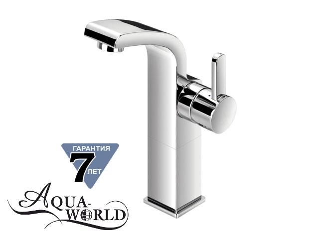 Смеситель для раковины чаши высокий SERENA L Aqua-World СМ40Сн.17.2