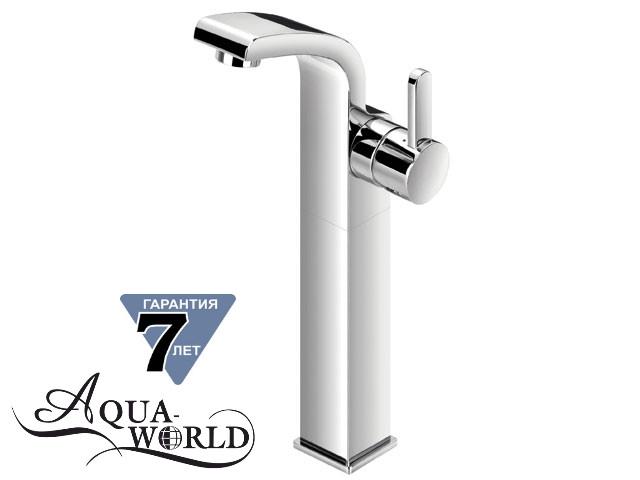 Смеситель для раковины чаши высокий SERENA XL Aqua-World СМ40Сн.17.3