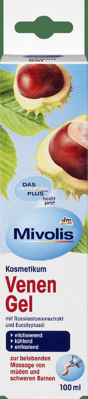 Противоварикозный гель Mivolis Venen Gel, 100 мл.