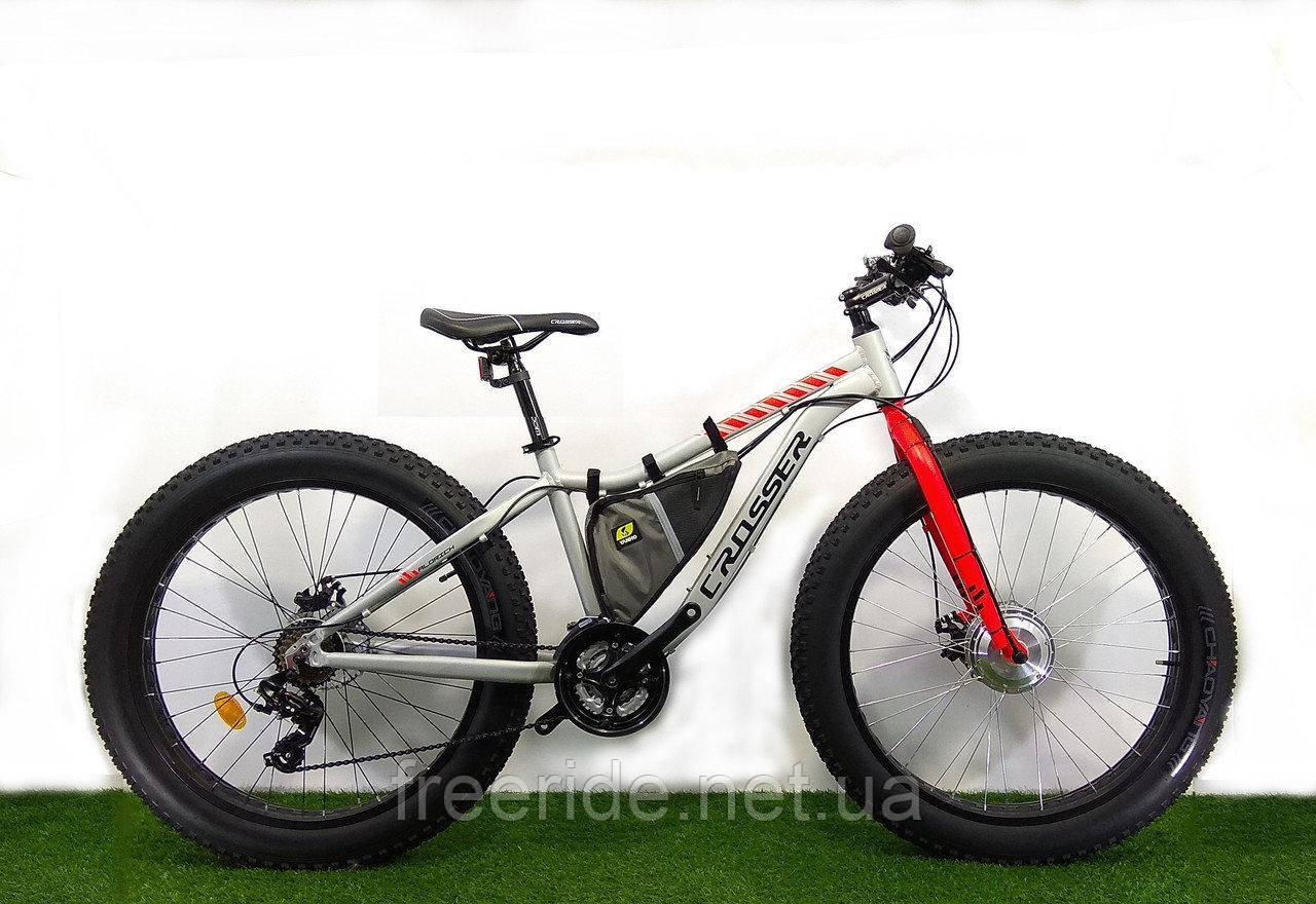 "Электровелосипед Crosser FatBike 26"" (Li-ion)"