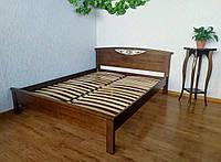 """Двуспальная кровать из массива дерева от производителя """"Фантазия"""" 160х190/200 (орех)"""