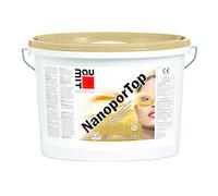 """Штукатурка нанопоровая BAUMIT NANOPOR TOP К15 """"барашек"""", белая, 25кг"""