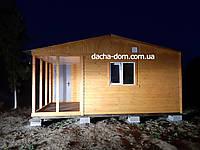 Дачные домики 6м×6м.(36 квадратов).