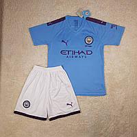 Футбольная форма Манчестер Сити (домашняя), сезон 19-20. Элитный полиестер